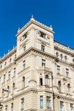 在维也纳,奥地利中间的一个古老大厦 免版税库存图片