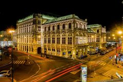 在维也纳 免版税库存照片
