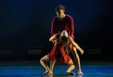 在死亡的门现代舞蹈 图库摄影