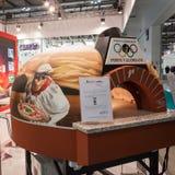 在主人的薄饼烤箱2013年在米兰,意大利 免版税库存图片