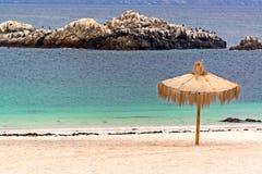 在巴伊亚Inglesa的海滩 图库摄影