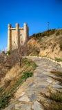 在巴伦西亚de唐璜,卡斯蒂利亚y利昂,西班牙防御 免版税库存图片