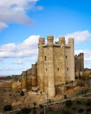 在巴伦西亚de唐璜,卡斯蒂利亚y利昂,西班牙防御 库存图片