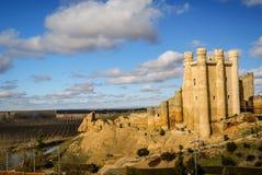 在巴伦西亚de唐璜,卡斯蒂利亚y利昂,西班牙防御 图库摄影