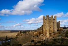 在巴伦西亚de唐璜,卡斯蒂利亚y利昂,西班牙防御 免版税库存照片