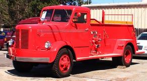 在仓促的消防车 免版税图库摄影