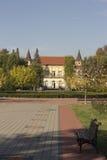 在洛兹尼察的Koviljaca温泉 库存图片