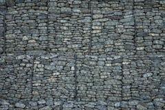 在系列安排的石头 免版税库存图片
