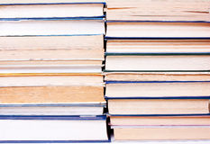 在系列的许多书 库存照片