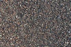 在添加之上小卵石拍摄了海运海草水 库存图片