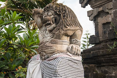 在巴厘岛的大雕象 库存图片