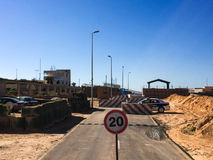 在2016年参观向的黎波里在利比亚 库存照片