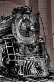 在1939年古色古香的火车3751从1927年运行了并且打开了在La加州的联合驻地 是存在LA的Trainfest 2017年 库存图片