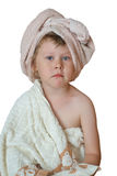 在浴以后 免版税库存图片