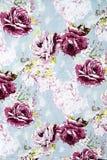在织品的罗斯设计无缝的样式作为背景 库存照片