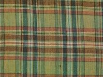 在织品,背景的颜色格栅 免版税图库摄影