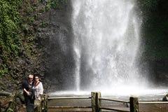 在巴图附近的瀑布 库存照片