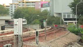 在驻地的火车 库存图片