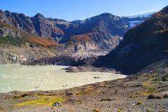 在巴塔哥尼亚阿根廷的风景 免版税库存图片