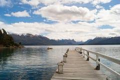 在巴塔哥尼亚,阿根廷的美好的风景 免版税图库摄影