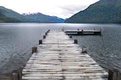 在巴塔哥尼亚,阿根廷的自然风景 免版税库存照片