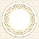 在维多利亚女王时代的样式的装饰华丽框架 向量例证