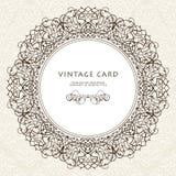 在维多利亚女王时代的样式的装饰华丽框架 免版税库存图片