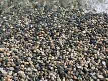 在维多利亚岛,不列颠哥伦比亚省的岩石 免版税库存照片