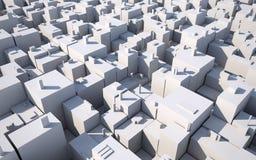 城市摘要 免版税库存照片
