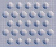 折的纹理 免版税库存照片