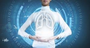 在医学的创新技术 免版税库存图片