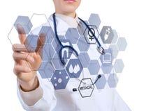 在医学的创新技术 免版税库存照片
