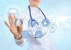 在医学的创新技术 库存照片