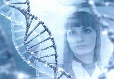在医学的创新技术 3D在拼贴画的例证元素 库存照片
