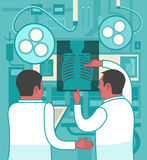 在医学的合作 免版税库存照片