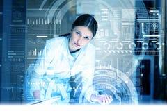 在医学的现代技术 库存照片