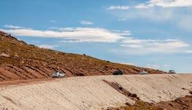 派克的峰顶,科罗拉多 免版税库存图片