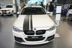 在贝尔格莱德车展的BMW 免版税库存图片