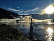 在黑山的早晨 图库摄影
