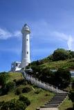 在绿岛乡,台湾的灯塔 免版税库存照片