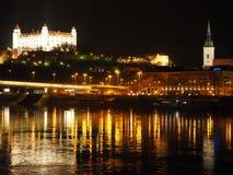在2016年布拉索夫-斯洛伐克的首都 免版税图库摄影