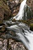 在贝希特斯加登的瀑布 图库摄影
