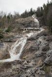 在贝希特斯加登附近的Königsbach瀑布 免版税图库摄影