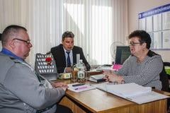 在2016年一系列的事件在切尔诺贝利事故的日期在白俄罗斯的戈梅利地区 库存照片