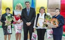 在2016年一系列的事件在切尔诺贝利事故的日期在白俄罗斯的戈梅利地区 免版税图库摄影