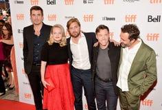 `在2017年多伦多国际电影节期间的方形的`首放 免版税库存照片