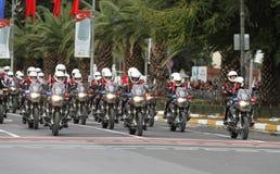 在2017年10月29日共和国天庆祝 库存图片