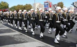在2017年10月29日共和国天庆祝 库存照片