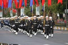 在2017年10月29日共和国天庆祝 图库摄影