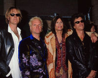 在1999年广告牌音乐奖的Aerosmith 免版税库存照片